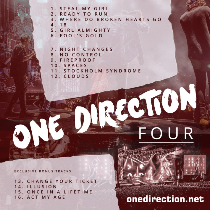 One Direction – Four (Album Stream & Download ) | InfoMania