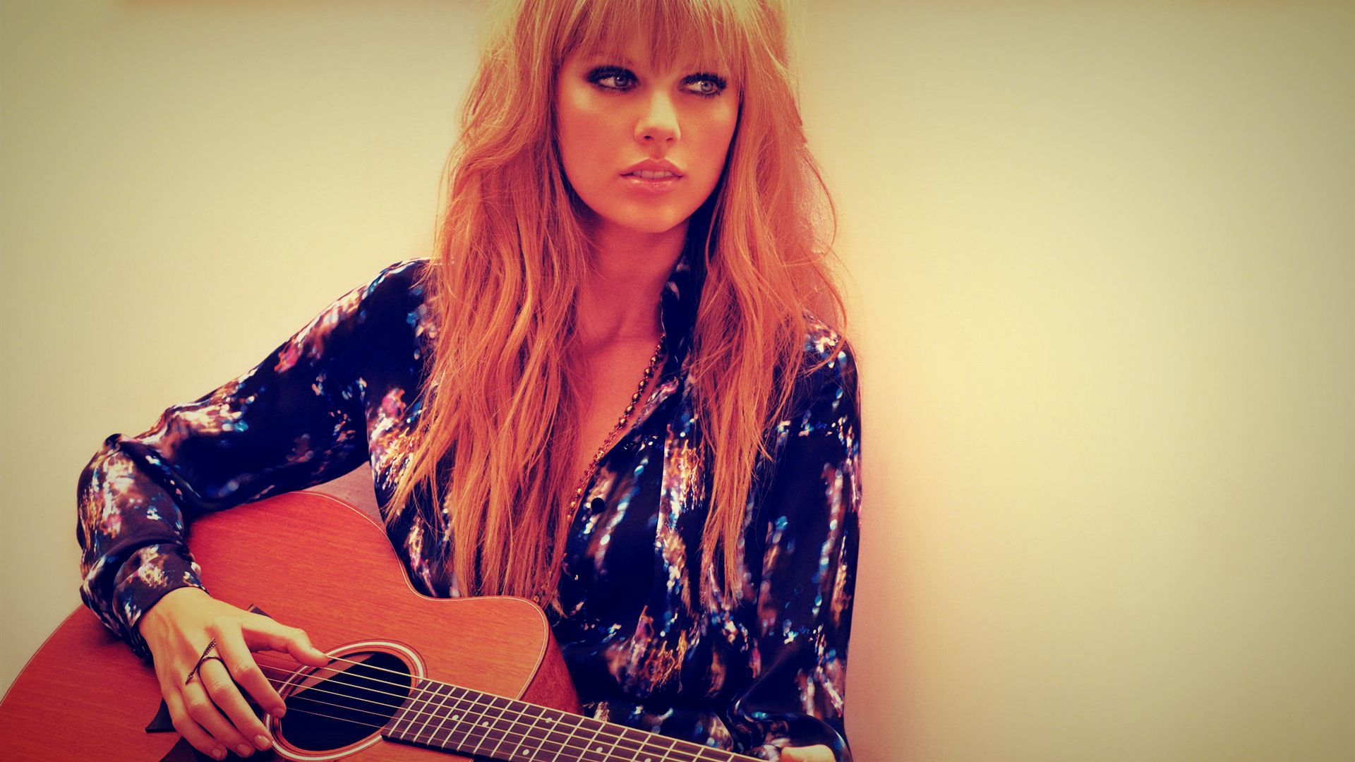Photo-of-Taylor-Swift-with-Acoustic-Guitar-HD-Wallpaper ...Taylor Swift Acoustic Guitar Wallpaper