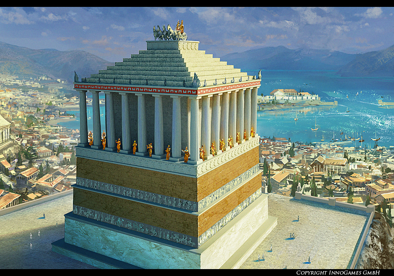 The Mausoleum at Halicarnassus  InfoMania